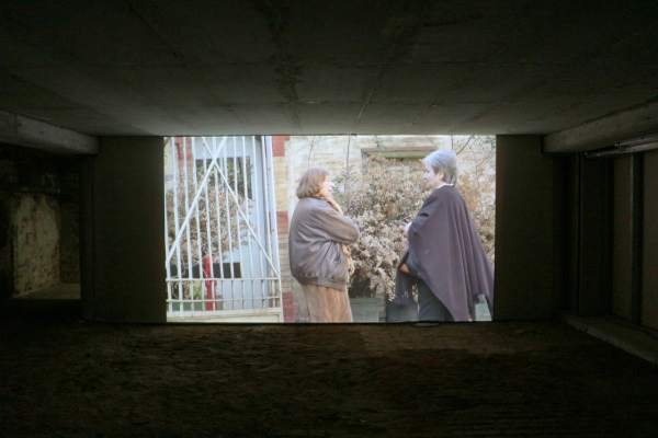 Installation view, HD video, 10:03 min, color, stereo